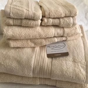Other - Finest Micro Cotton 8pc towel set